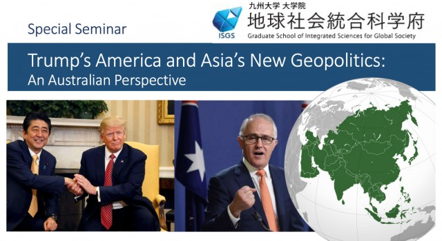 Trump's America and Asia's New Geopolitics: An Australian Perspective