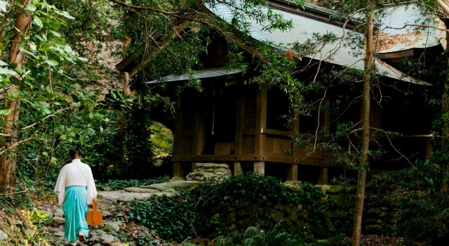 Sacred Island of Okinoshima and Associated Sites in the Munakata Region: One Shinto priest is stationed at all times on Okinoshima, each serving for a ten-day shift