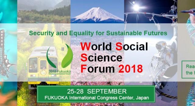 World Social Science Forum 2018 (WSSF2018)